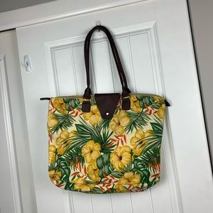 Handbags - Hibiscus large tote